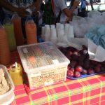 fruits et jus locaux